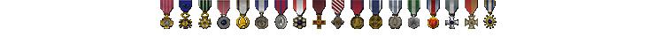 Kyuusaku Medals