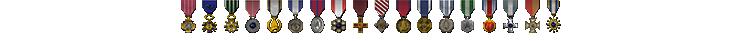 Saber Medals